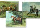 Lionel Ellis paintings of horses