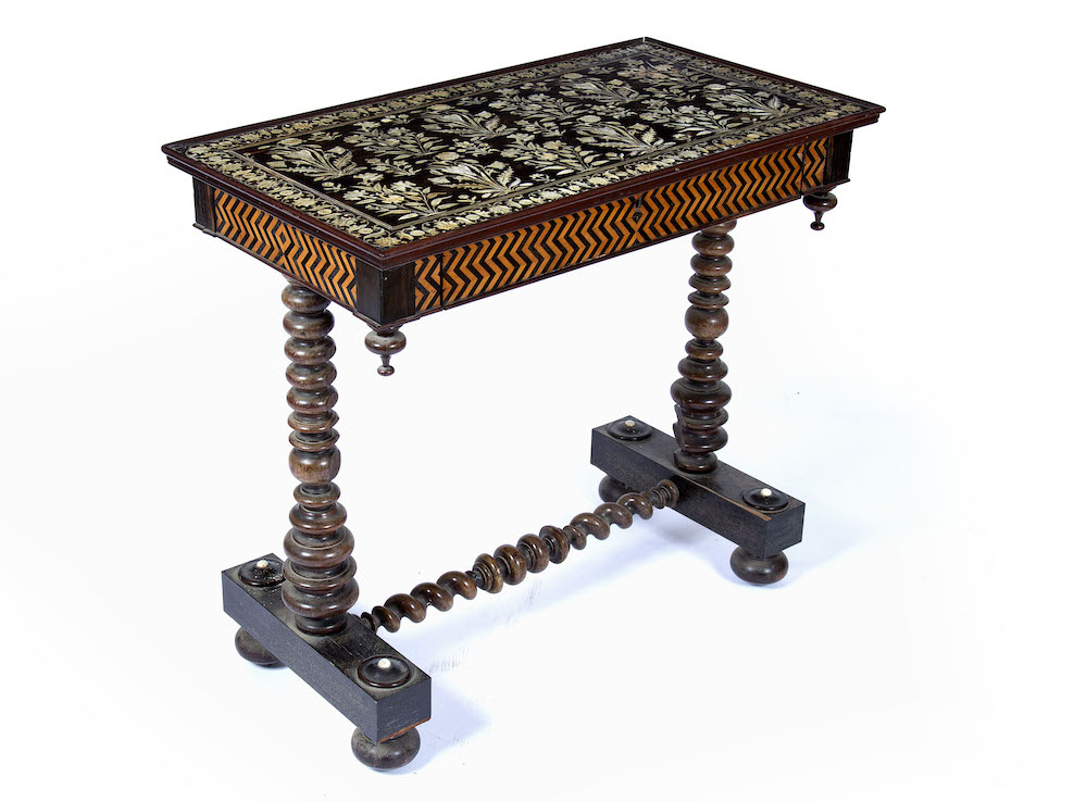 Rosewood Anglo-Indian table