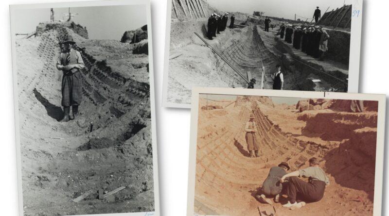 Orginal photographs of Sutton Hoo excavation