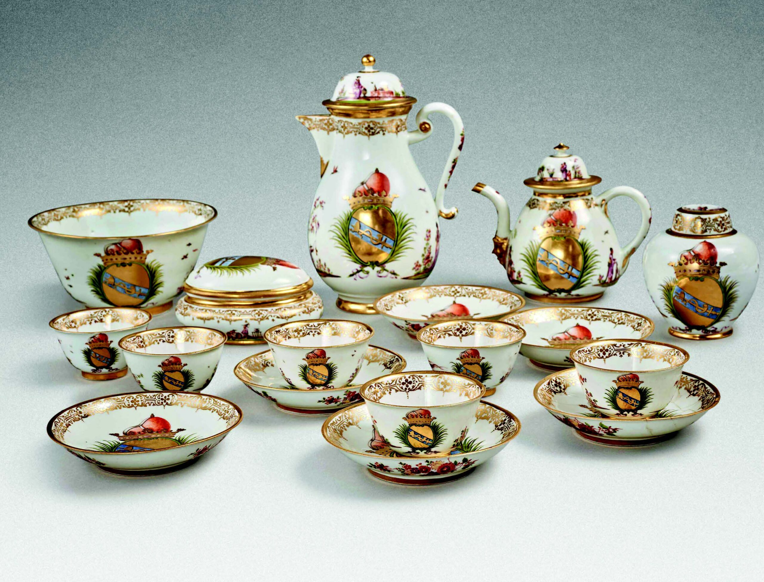 Meissen porcelain once stolen by theNazis