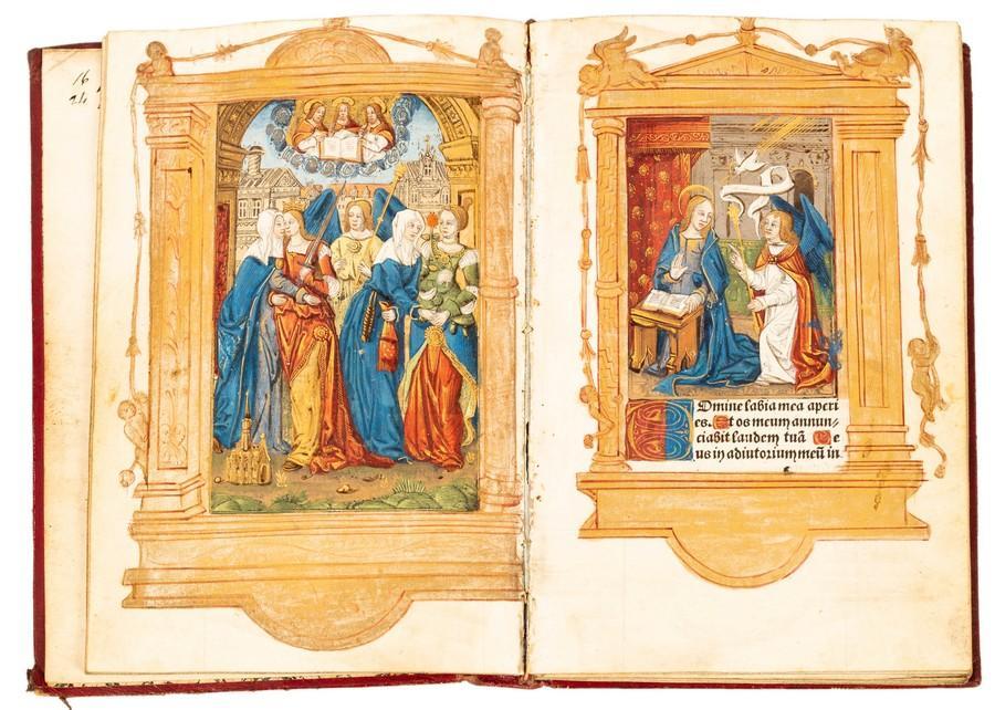 Hore intemerate Virginis Mariae second(um) Usum Romanum…