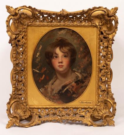 Portrait Sketch of John Etherington Welch Rolls