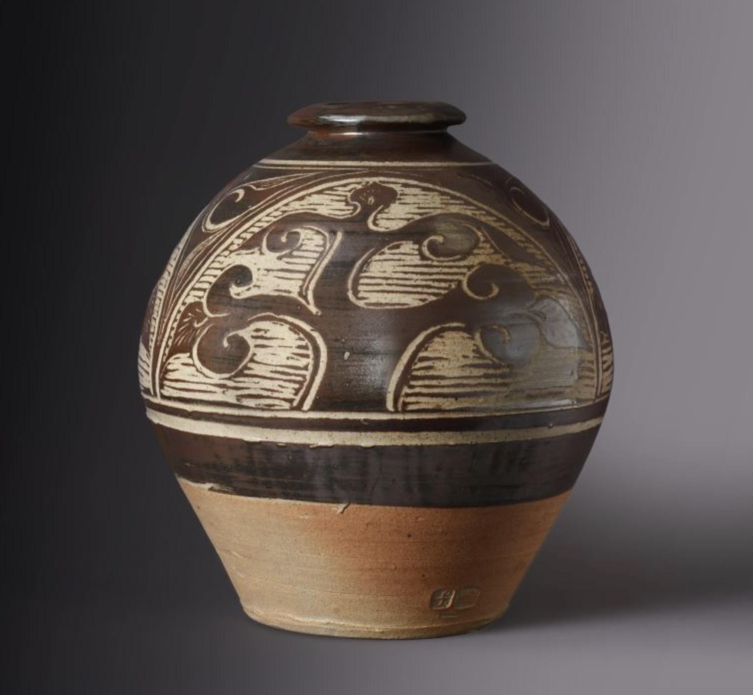 Bernard Leach Tree of Life vase