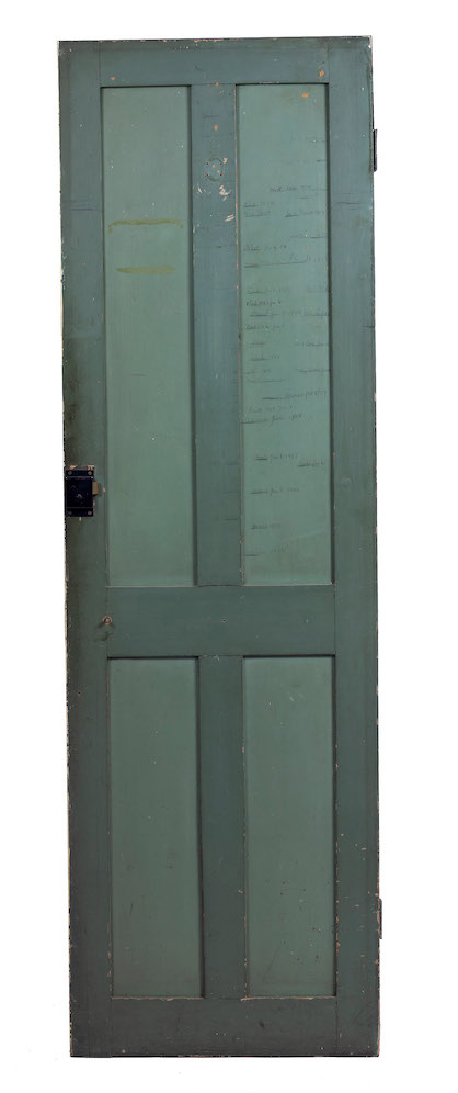 T E Lawrence door from 2 Polstead Road