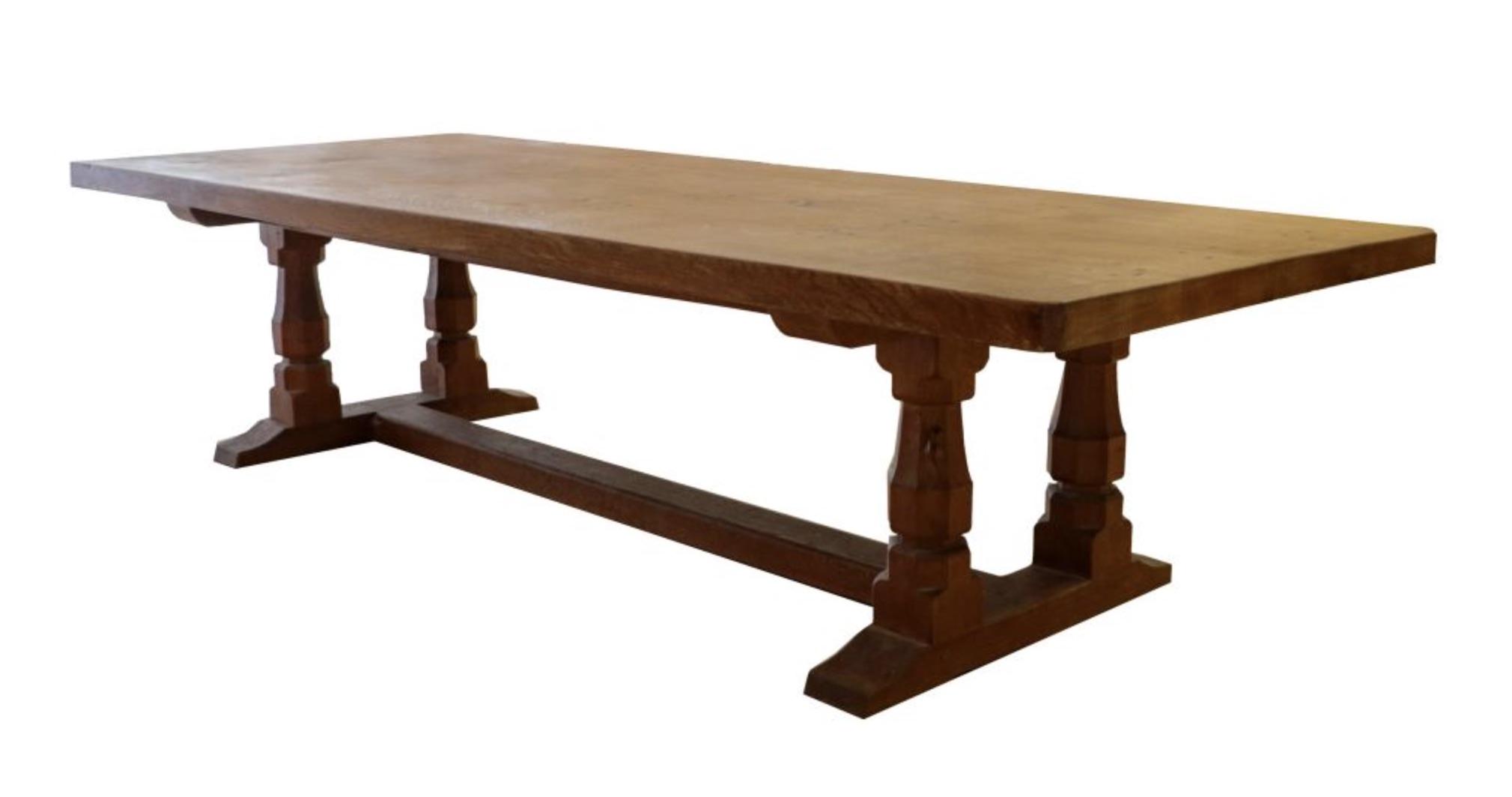 Robert 'Mouseman' Thompson Refectory Table
