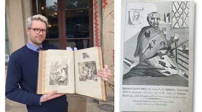 Spine-chilling scrapbook in Derbyshire sale