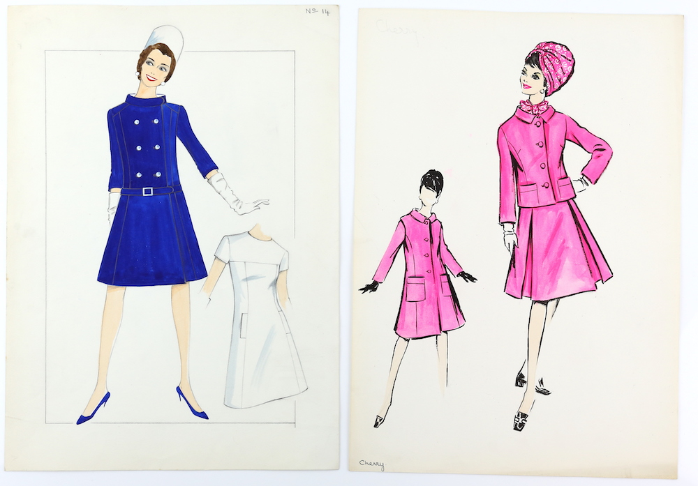 Fashion illustrations from