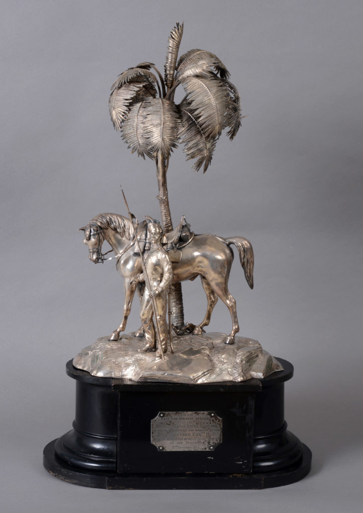 9th Lancers silver centrepiece
