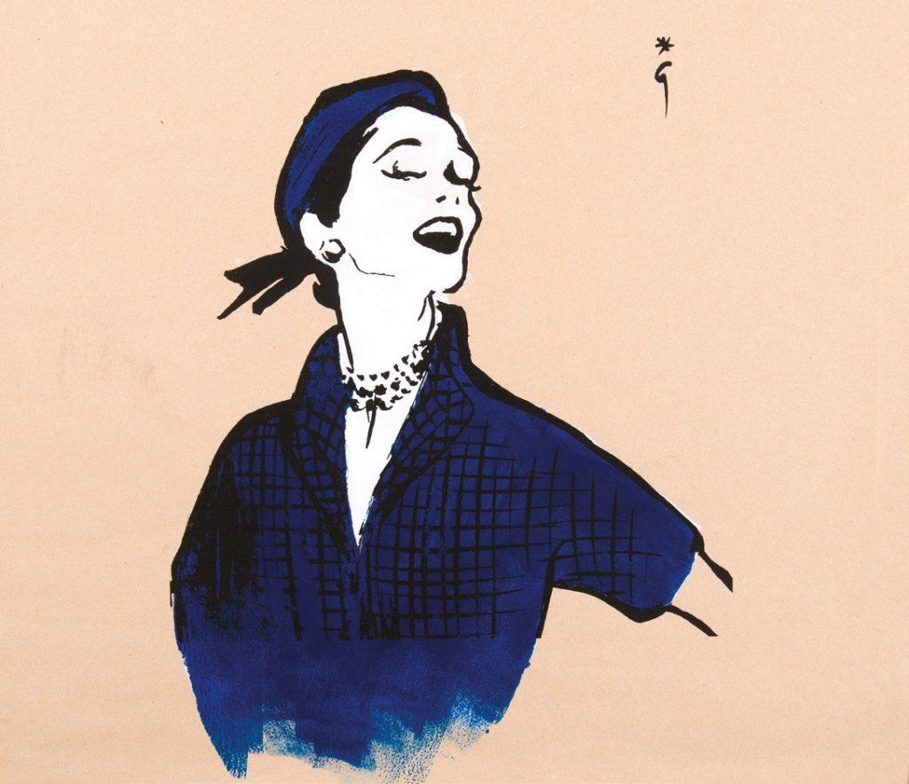 René Gruau, advertising for Printemps Paris
