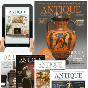 Antique Collecting magazine front covers and iPad edition