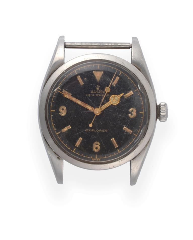 Vintage Rolex Explorer wristwatch