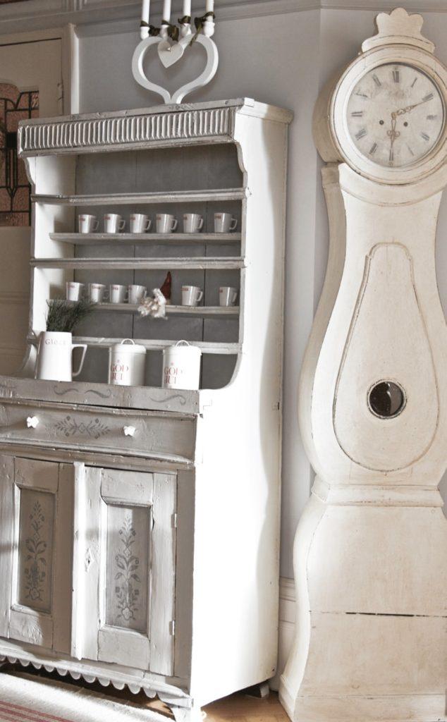antique Swedish Mora clocks come in a range of colours
