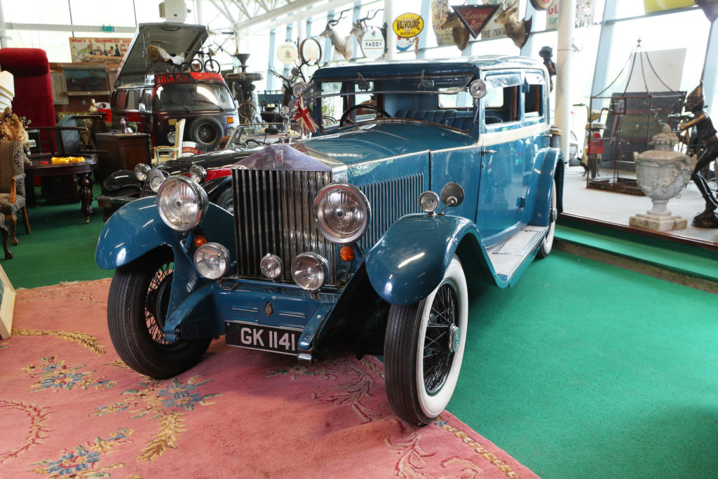 A 1930 3.7 litre Rolls-Royce Continental Sports which belonged to British Deputy Prime Minister Rab Butler