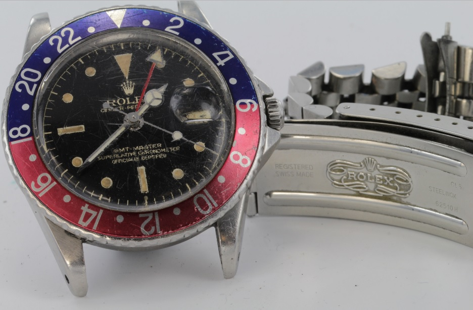 Rolex Chronometer that sold at Suffolk auction house Lockdales
