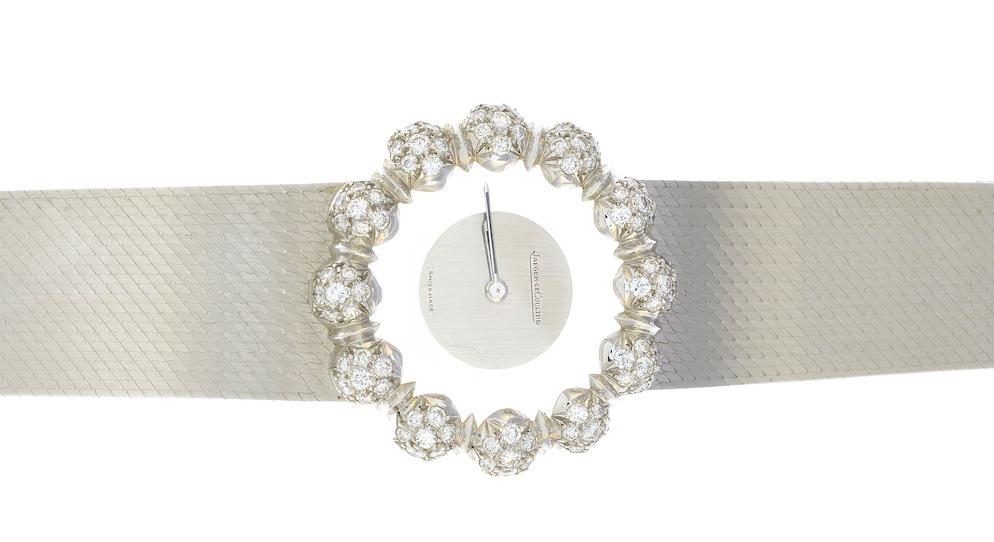 Stuart Devlin's diamond watch by Jaeger LeCoultre