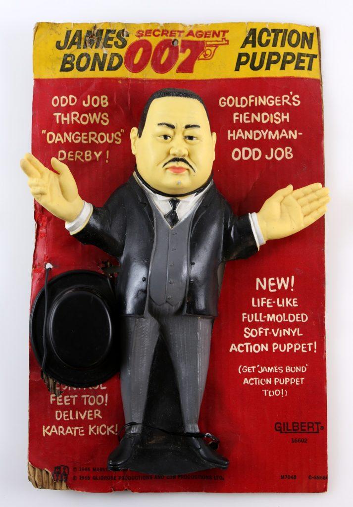 Vintage James Bond Oddjob toy